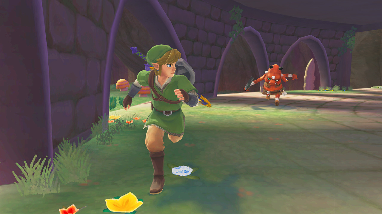The legend of zelda skyward sword tests for Skyward laporte