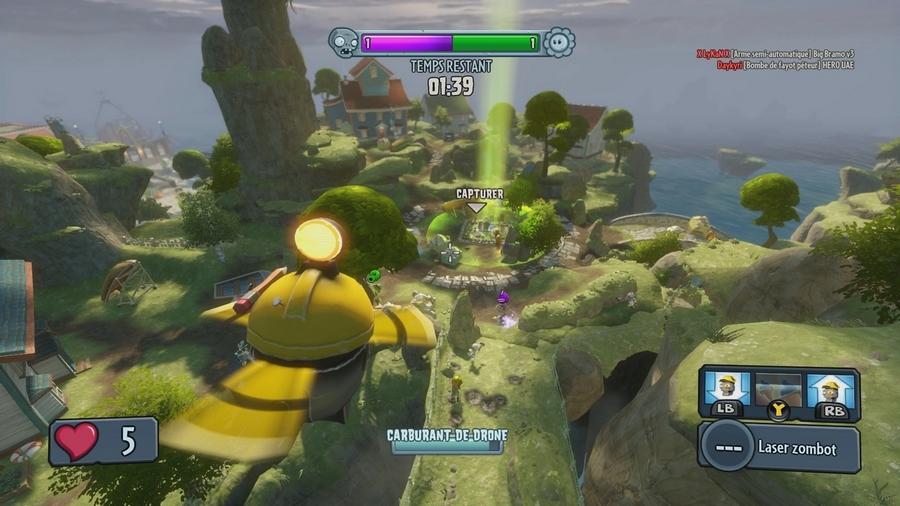 Plants vs zombies garden warfare tests - Xboxygen le site consacre aux consoles xbox et xbox ...